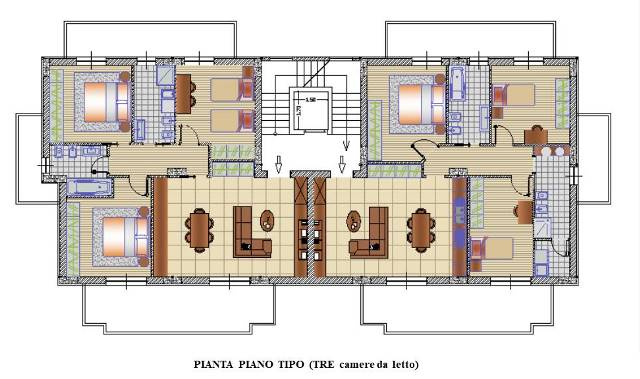 PIANTA 3 CAMERE