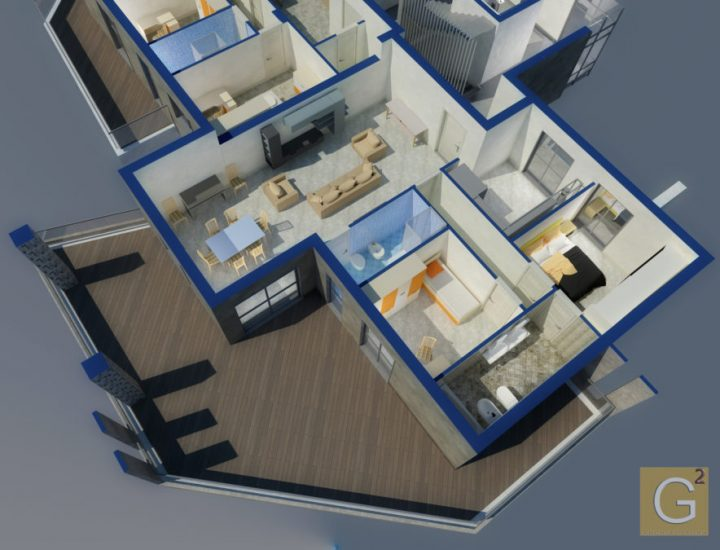 Appartamento 95 mq Tipo 3